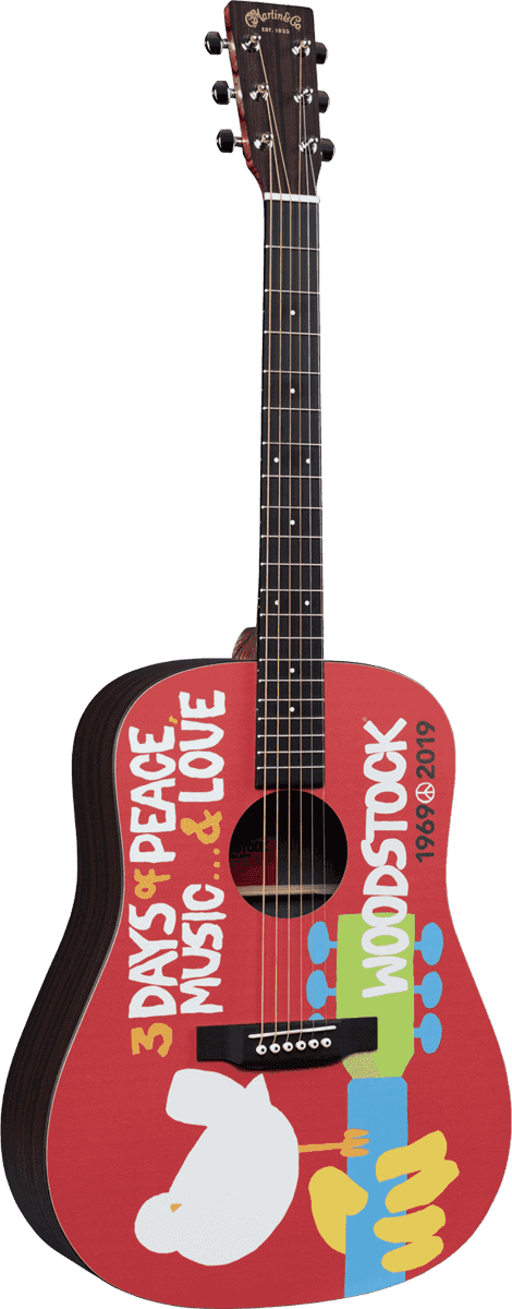 Martin DX- Wood stock