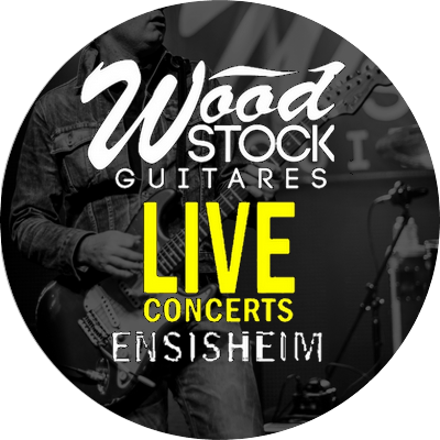 PROGRAMMATION WOOD STOCK GUITARES LIVE – JUILLET / NOVEMBRE 2019