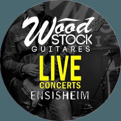 PROGRAMMATION WOOD STOCK GUITARES LIVE – JUILLET / NOVEMBRE 2019