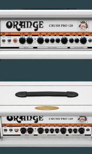 Orange Crush 120 LIMITED EDITION White