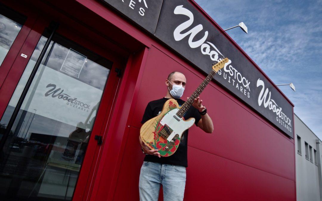 ***Réouverture de Wood Stock Guitares – les mesures sanitaires dans votre shop***