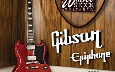 WELCOME GIBSON & EPIPHONE @ Wood Stock Guitares Ensisheim