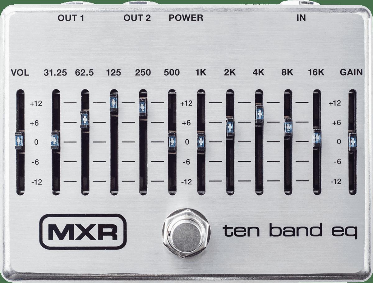 MXR EQ 10 BANDES